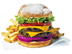 Color Food Photograph of Juicy Hamburger by Tony Sanders food-photographer
